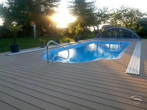 gfk pools, pools aus polen, gfk schwimmbecken, pool Überdachungen,
